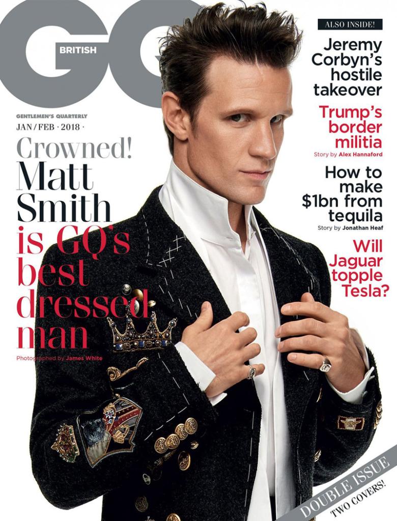 Matt Smith Cover